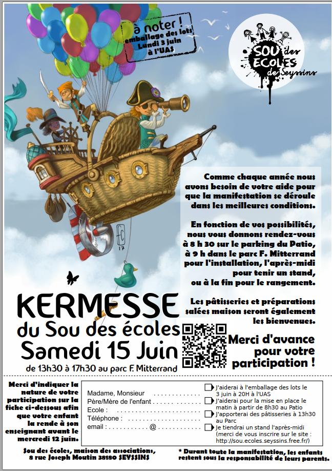 Flyers Kermesse